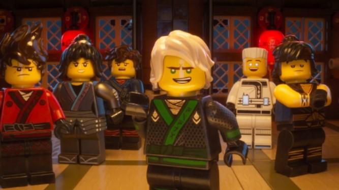 Lego Nijago filmen